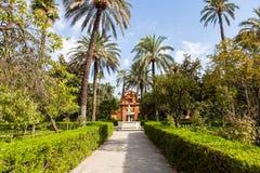 Seville Alcazar Garden Royalty Free Stock Photo