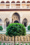 Seville Alcazar Garden Royalty Free Stock Image