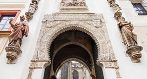 Seville Alcazar Stock Photography