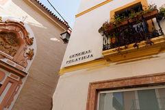 Seville. Andalusia. The architecture of the Cathedral Capilla San Jose Royalty Free Stock Photography