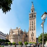 Seville, Andalusia, Spain - February 2019: Cathedral stock image