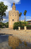 Seville, Andalusia, Spain.Torre del Oro (Golden Tower). Royalty Free Stock Photography