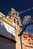 Seville, Andalusia, Spain. Traditional fiesta Royalty Free Stock Photo