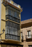 Seville, Andalusia, Spain. Traditional house window Royalty Free Stock Photo