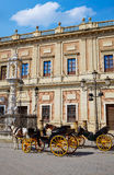 Seville Archivo Indias horse carriage Sevilla Spain Royalty Free Stock Image