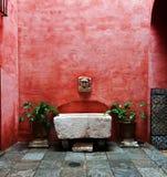 Seville borggård royaltyfria foton