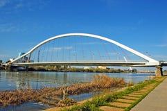 Seville bridge royalty free stock image