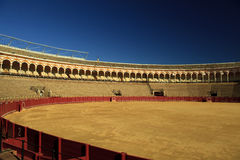 Seville bull arena Royalty Free Stock Photos