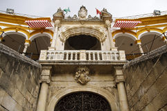Seville bullring - Royal balcony Stock Image