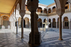 Seville, Casa de Pilatos Patio Royalty Free Stock Images