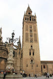 The Seville Cathedral. In Spain Royalty Free Stock Images