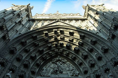 Seville Cathedral. With Gothic and Moorish architecture Royalty Free Stock Photos