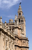 Seville Cathedral and Bell Tower (Giralda) Royalty Free Stock Photos