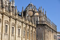 Cathedral of Seville, Spain Royalty Free Stock Photography
