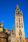 Seville Cathedral Giralda Tower Sevilla Spain Royalty Free Stock Photography