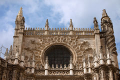Seville Cathedral Gothic Architecture Stock Photos