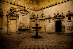 Seville Cathedral Interior Royalty Free Stock Photo