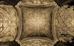 Seville Cathedral Interior Stock Photography