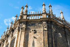 Seville cathedral Royalty Free Stock Photography