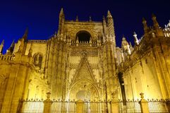 Seville cathedral. Stock Photography