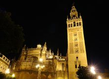 Seville cathedral. Royalty Free Stock Photos