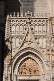 Seville Cathedral Ornamentation Stock Photography