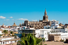 Seville Cathedral. The Cathedral of Saint Mary of the See in Seville Stock Image