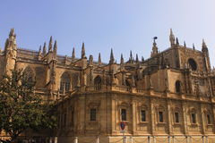 Seville Cathedral. Cathedral of Seville, The Cathedral of Saint Mary of the See Stock Photo