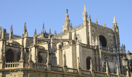 Seville Cathedral Royalty Free Stock Images