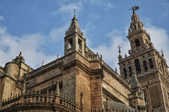 Seville Cathedral in Sevilla, Spain. Royalty Free Stock Images