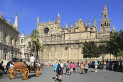 Seville Cathedral, Spain Stock Image