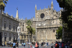 Seville Cathedral, Spain Stock Photography