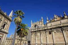 Seville Cathedral Stock Images