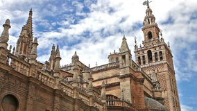 Seville Cathedral Spain stock video