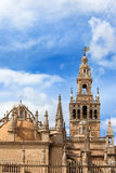 Seville Cathedral Tower and Dome Stock Image