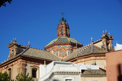 Seville city view. From Spain Stock Photo