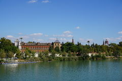 Seville city view. From Spain Stock Photography