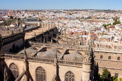 Seville Cityscape Royalty Free Stock Photography