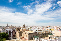 Seville cityscape Spain Royalty Free Stock Photos
