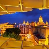 Seville Cityscape, Spain Stock Photos
