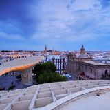 Seville Cityscape, Spain Stock Photo
