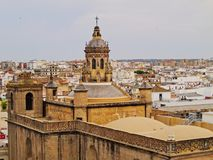 Seville Cityscape, Spain Royalty Free Stock Photo