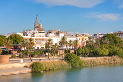 Seville cityscape Stock Image