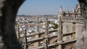 Seville domkyrka royaltyfria foton