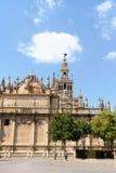Seville domkyrka Arkivfoto