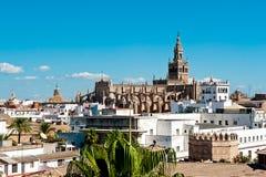 Seville domkyrka Fotografering för Bildbyråer