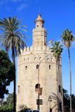 Seville Golden Tower Royalty Free Stock Images