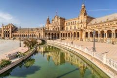 Seville i södra västra Spanien Royaltyfria Bilder