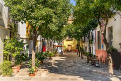 Seville i Spanien Arkivfoton