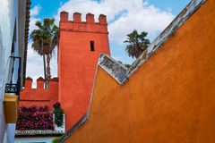 Seville Juderia barrio Andalusia Sevilla Spain Royalty Free Stock Photo